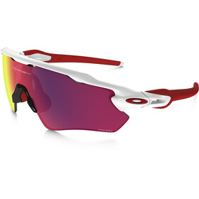 Oakley Radar EV Path Sonnenbrille polished white/prizm road